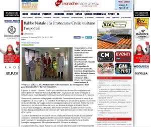 Prociv-Arci su Cronachemaceratesi dicembre 2012