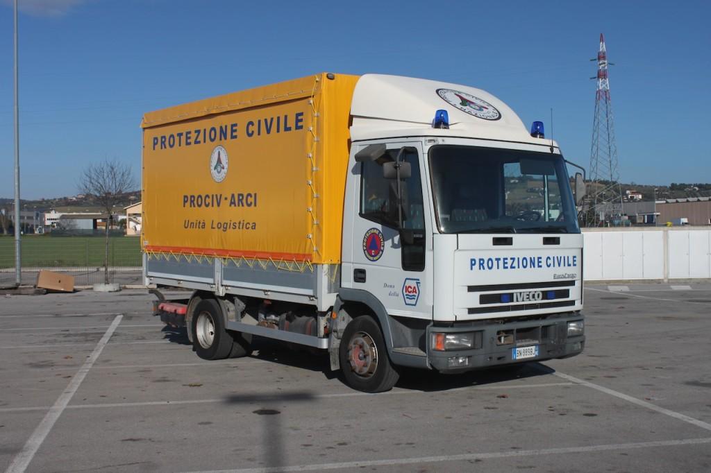 Nuovo Autocarro Prociv-Arci Civitanova